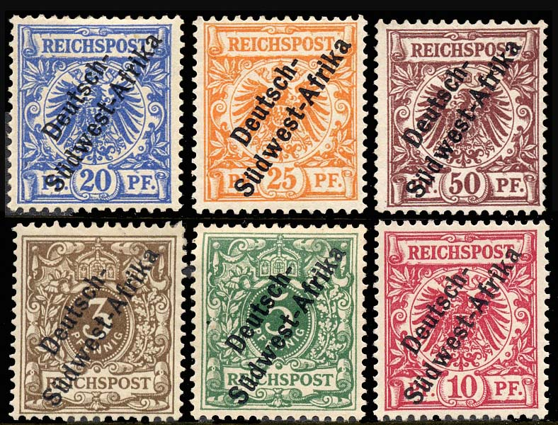 1 5 First SWA Stamps