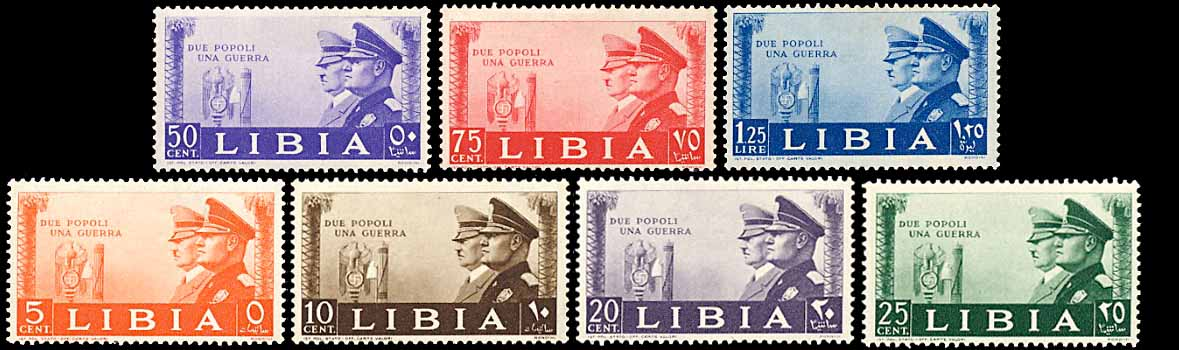 Libya 95-101 Hitler and Mussolini LH