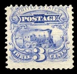US 114 1869 3 Cent Railroad Pictorial