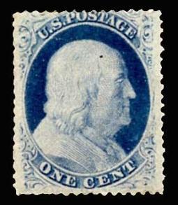 US 24 1 Cent Franklin