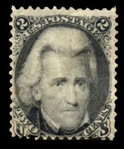 US 73 1863 2 Cent Jackson