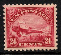 US C6 De Havilland Biplane